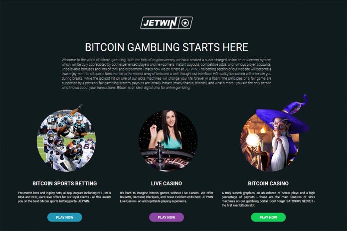 Choose Jetwin casino