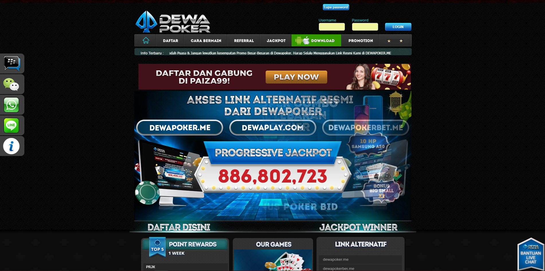 Here S Why We Think You Should Visit Dewapoker Right Away Online Casino Uk