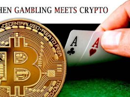 Betting with crypto currencies